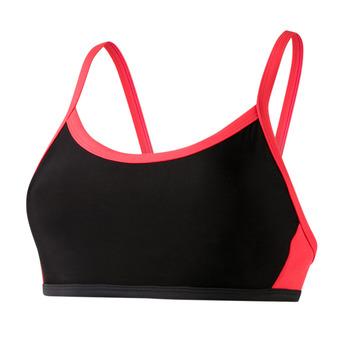 Speedo HYDRACTIVE - Top de bikini mujer black/red
