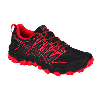 Asics GEL-FUJITRABUCO 7 - Chaussures trail Homme black/classic red