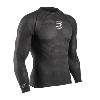 3D thermo 50g LS Tshirt Homme BLACK