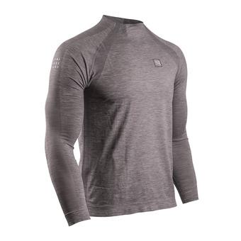 Compressport TRAINING - Camiseta hombre grey melange
