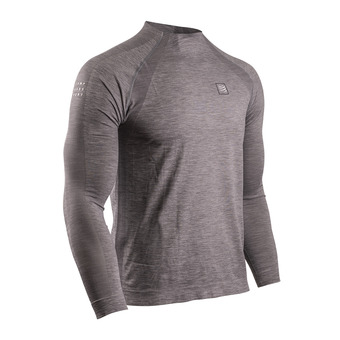 Training Tshirt LS Homme GREY MELANGE