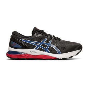 Asics GEL-NIMBUS 21 - Zapatillas de running hombre black/electric blue