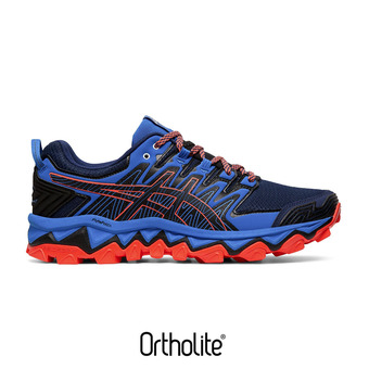 Asics GEL-FUJITRABUCO 7 - Zapatillas de trail hombre blue expanse/electric blue
