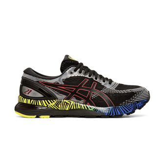 Asics GEL-NIMBUS 21 LS - Zapatillas de running hombre black/electric blue