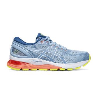 Asics GEL-NIMBUS 21 - Zapatillas de running mujer heritage blue/lake drive