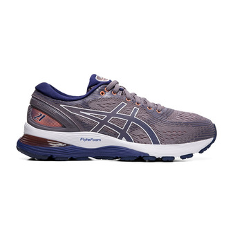 Asics GEL-NIMBUS 21 - Chaussures running Femme lavender grey/dive blue