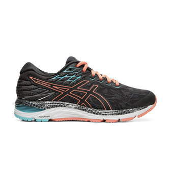 Asics GEL-CUMULUS 21 LS - Zapatillas de running mujer graphite grey/sun coral