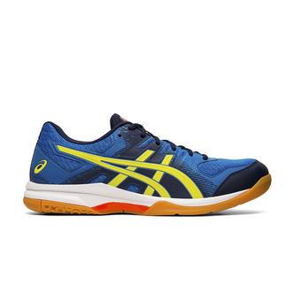 Asics GEL-ROCKET 9 - Zapatillas de vóleibol hombre electric blue/sour yuzu