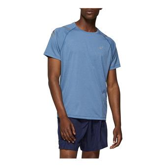 Asics ICON - Camiseta hombre deep saphire heather