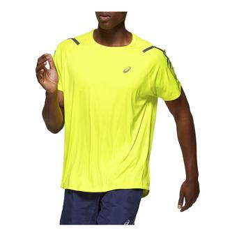 Asics ICON - Camiseta hombre sour yuzu