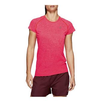 Asics SEAMLESS - Camiseta mujer laser pink