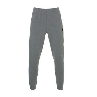 Asics SMALL LOGO - Pantalón de chándal hombre mid grey heather