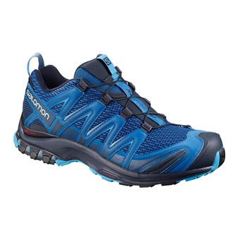 Salomon XA PRO 3D - Trail Shoes - Men's - sky diver/navy blazer/hawaiian ocean