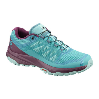 Salomon XA DISCOVERY - Chaussures trail Femme meadowbrook/potent purple/icy morn