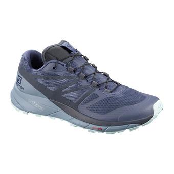 Salomon SENSE RIDE 2 - Trail Shoes - Women's - crown blue/flint/icy morn