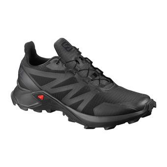 Salomon SUPERCROSS - Trail Shoes - Men's - black/black/black