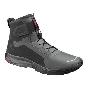 Salomon T-MAX WR - Botas après-ski hombre black/black/magnet
