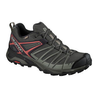 Salomon X ULTRA 3 PRIME GTX - Hiking Shoes - Men's - castor grey/shadow/bossa nova