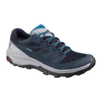 Salomon OUTLINE GTX - Chaussures randonnée Homme navy blazer/quarry/lyons blue