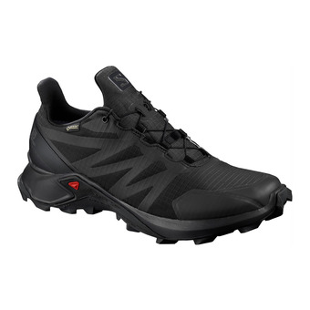 Salomon SUPERCROSS GTX - Zapatillas de trail hombre black/black/black