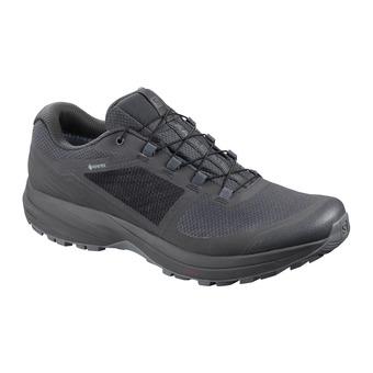 Salomon XA ELEVATE GTX NOCTURNE - Chaussures trail Homme ebony/quiet shade/black