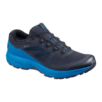 Salomon XA ELEVATE 2 GTX - Trail Shoes - Men's - india ink/india ink/indigo bunting