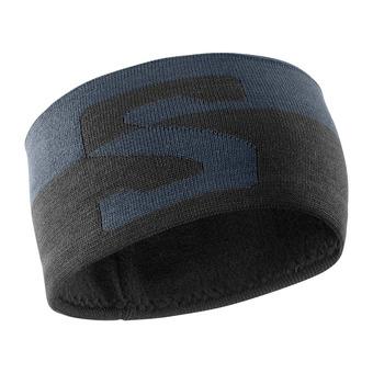 Salomon ORIGINAL - Headband - ebony/black/wht