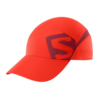 Salomon XA - Gorra fiery red/biking re