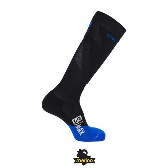 Salomon S/MAX - Chaussettes black/surf web