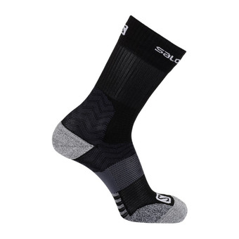 Salomon OUTPATH MID - Chaussettes black/forged iron