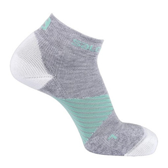 Salomon SPEED PRO - Socks - light grey/waterfall