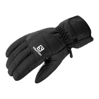 Salomon FORCE - Gloves - Men's - black/black