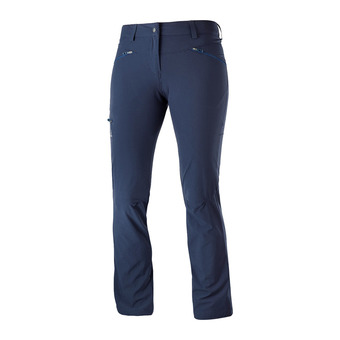Salomon WAYFARER STRAIGHT - Pants - Women's - night sky