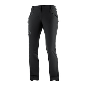 Salomon WAYFARER AS STRAIGHT - Pantalon Femme black