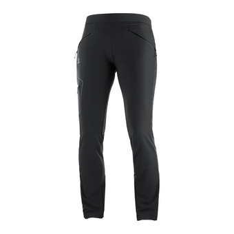Salomon WAYFARER AS TAPERED - Pantalón mujer black