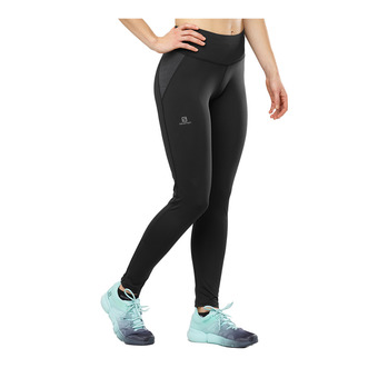 Salomon AGILE WARM - Legging Femme black