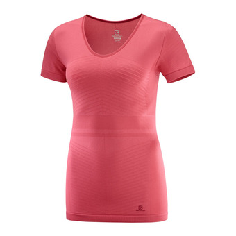 Salomon ELEVATE MOVE'ON - Base Layer - Women's - garnet pink