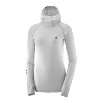 Salomon LIGHTNING PRO - Sweat Femme lunar rock