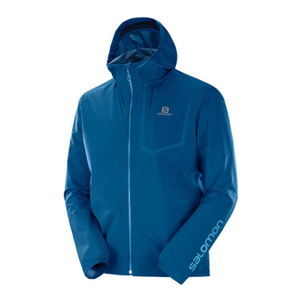 Salomon BONATTI PRO WP - Jacket - Men's - poseidon