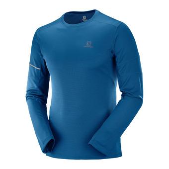 Salomon AGILE - Camiseta hombre poseidon