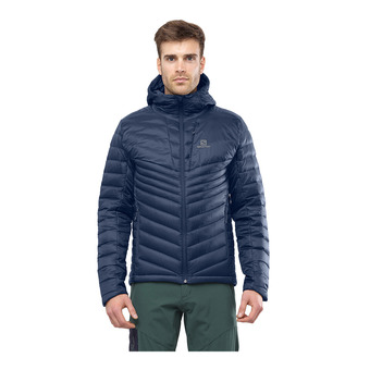 Salomon HALOES DOWN - Down Jacket - Men's - night sky