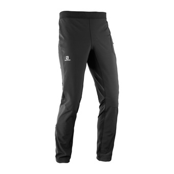 Salomon RS WARM SOFTSHELL - Pantalon Homme black