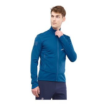 Salomon RS SOFTSHELL - Jacket - Men's - poseidon