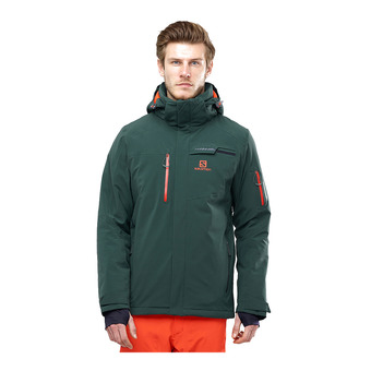 Salomon BRILLIANT - Ski Jacket - Men's - green gab