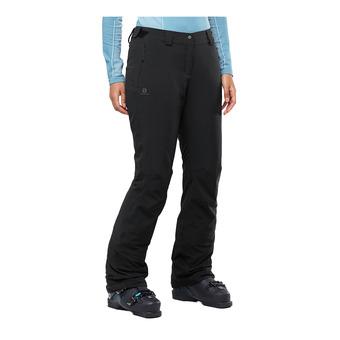 Salomon ICEMANIA - Pantalón de esquí mujer black