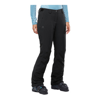 Salomon ICEMANIA - Pantalon ski Femme black