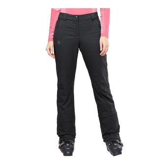 Salomon STORMSEASON - Pantalón de esquí mujer black