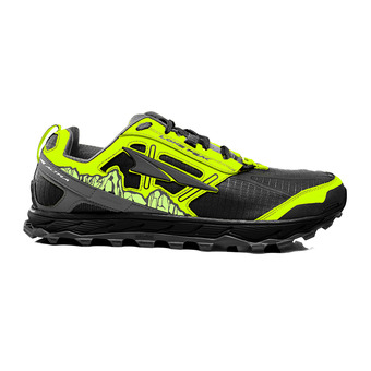 Altra LONE PEAK 4 - Chaussures trail Homme gray/yellow