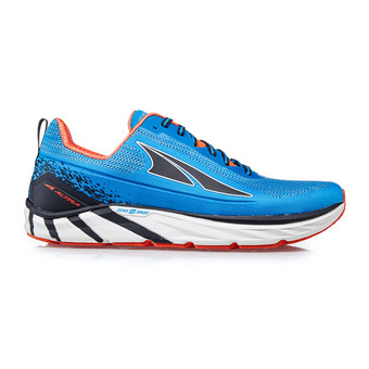 Altra TORIN PLUSH 4 - Scarpe da running Uomo blue/orange