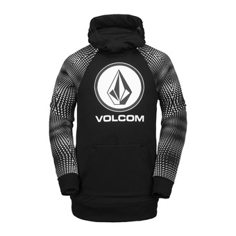 Volcom HYDRO RIDING - Felpa Uomo black stripe